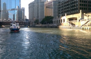 Chicago-Riverfront-boat-view