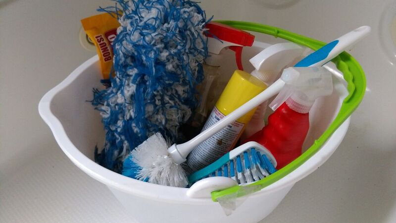 Household cleaning products that may pollute water