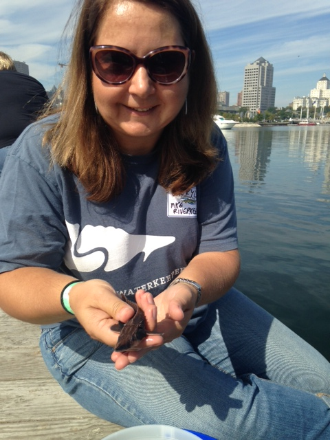 Cheryl Nenn sturgeon Milwaukee Riverkeeper