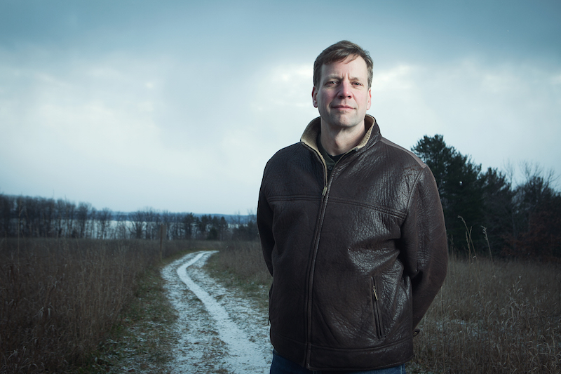 Glen Chown, executive director of Grand Traverse Regional Land Conservancy, is a tireless advocate for farm land connection and water quality. (via GTRLC)