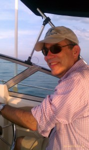 Jim Ridgway, out enjoying the waterways he helps protect. (via ECT)