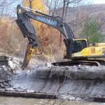 Briggsville Dam removal 110110