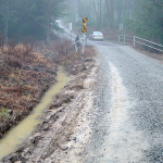 Dirt roads were made for driving, but not driving rain. (via Center for Dirt and Gravel Road Studies)