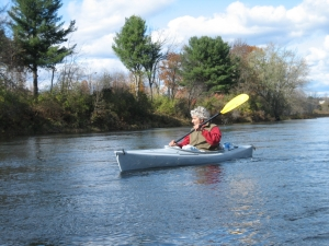 Canoeing is now a popular activity on the Lackawanna River! (via Federal Highway Administration)